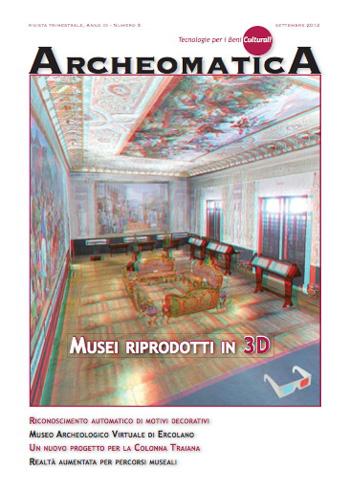 2012 Archeomatica n°3. | PDF