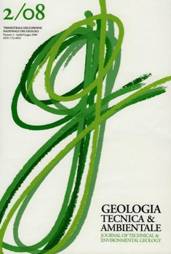 2008 Geologia Tecnica Ambientale n°2. | PDF