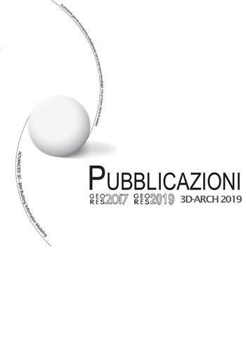 2019 Pubblicazioni Geores 2017/2019 e 3D-ARCH 2019. | PDF